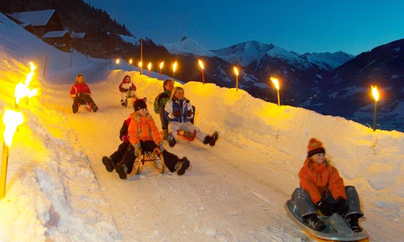Rodelen in Fiss, een leuke vorm van apres ski in Fiss